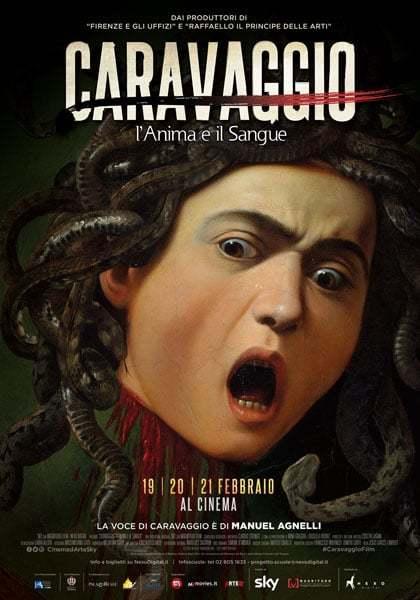 Proiezione film: Caravaggio, l'anima e il sangue