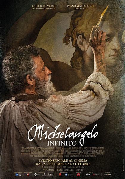 """Proiezione """"Michelangelo – infinito"""""""