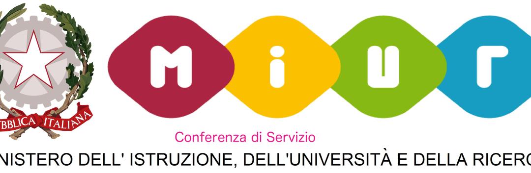 Conferenza dei servizi MIUR