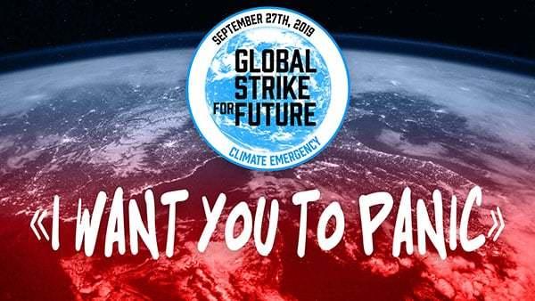 "Manifestazione ""Global Strike for Future"""